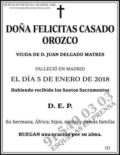 Felicitas Casado Orozco